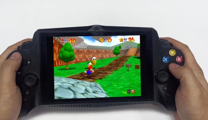 JXD Singularity Mario 64