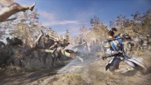 Dynasty Warriors 9 Man Chong combat