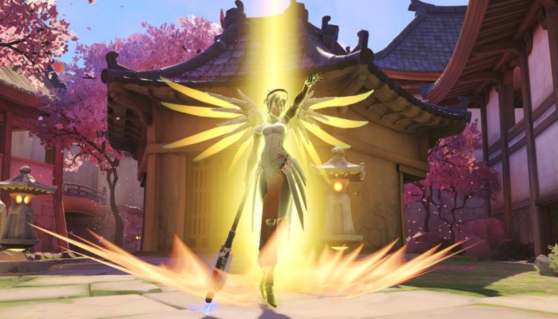 Overwatch Mercy résurrection