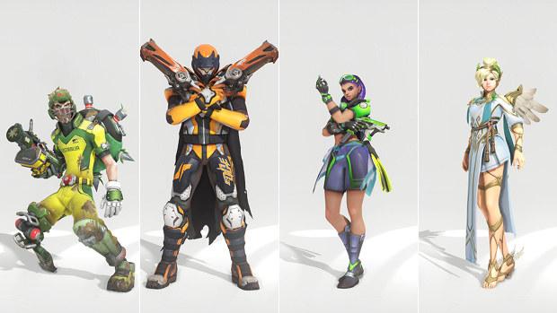 Overwaatch Summer Games 2017 skins 2