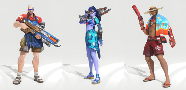 Overwatch Summer Games 2017 skins