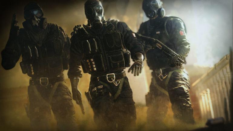 Rainbow Six Siege équipe