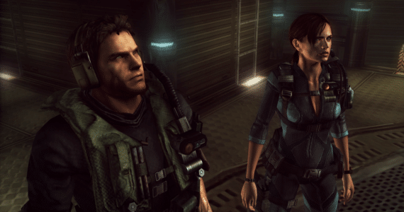 Resident Evil Revelations Chris & Jill