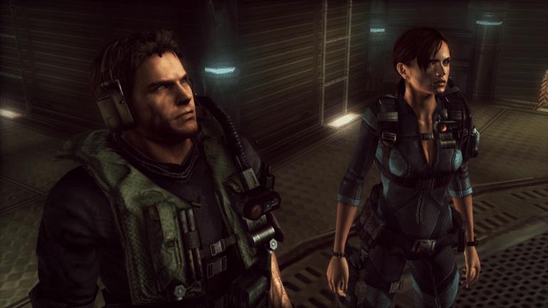 Resident Evil Revelations Chris & Jill