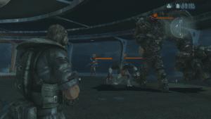 Resident Evil Revelations Chris Raid