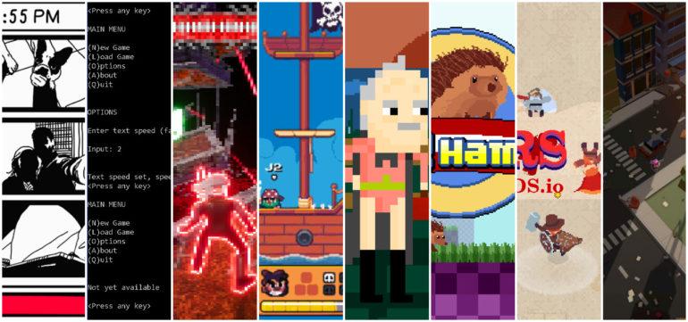 Collage des jeux indés
