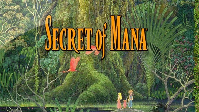 Secret of Mana logo