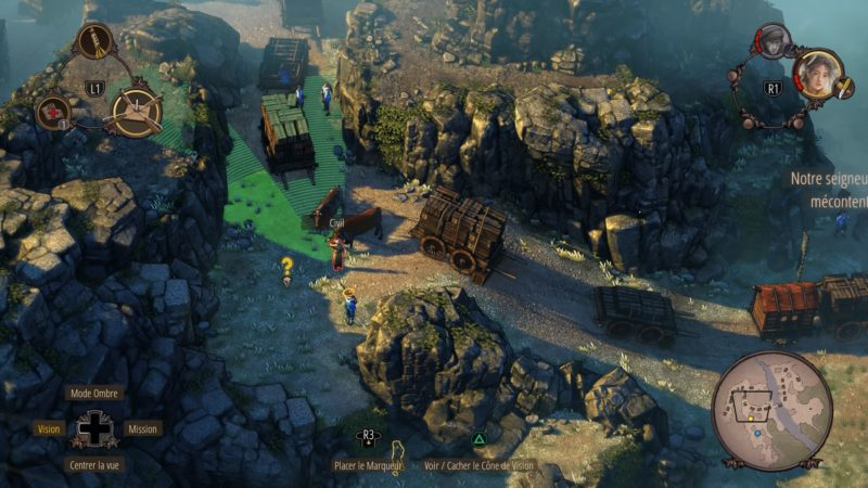 Shadow Tactics: Blades of the Shogun infiltration