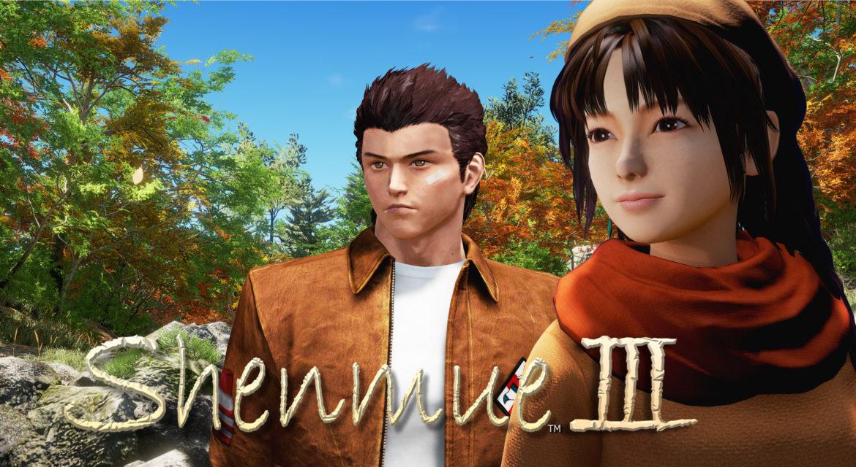 Shenmue 3 Ryo et je la connais pas, elle.