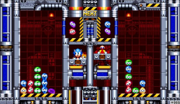 Sonic Mania mini-jeu