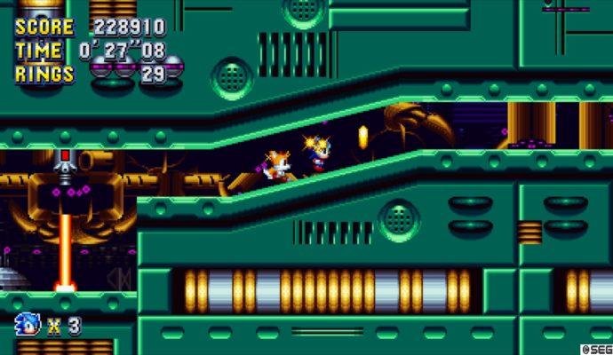 Sonic Mania Tails contre la montre