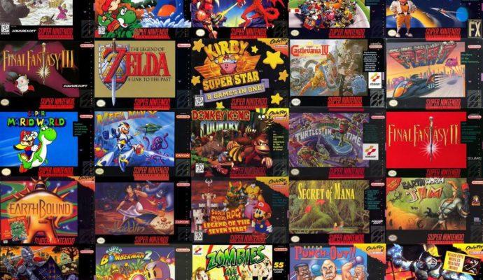 Supa RetroN HD jeux Super NES