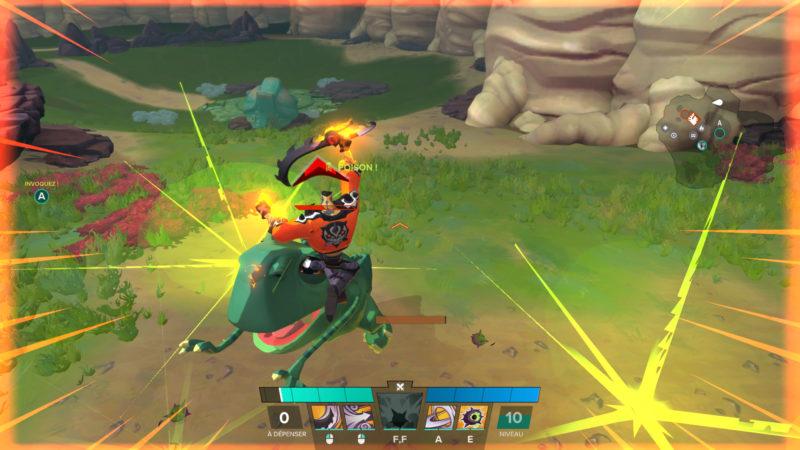 Gigantic combat 4