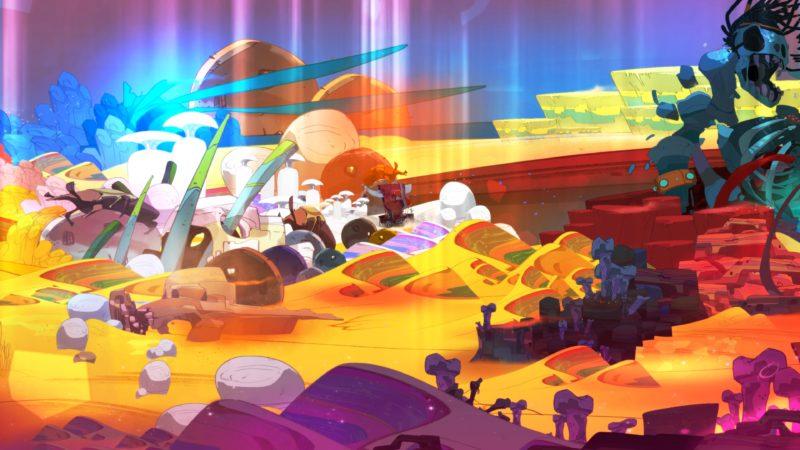 Test Pyre - Un désert aux milles couleurs