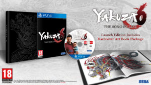 Yakuza 6 edition collector normale