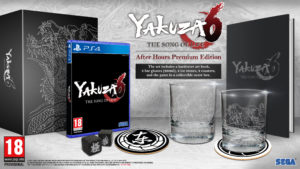 Yakuza 6 édition collector de beau gosse