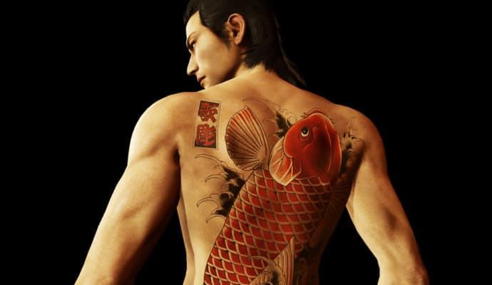 Yakuza Kiwami tatouage