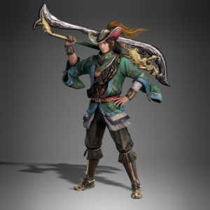Dynasty Warriors 9 Zhou Cang