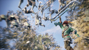 Dynasty Warriors 9 Zhou Cang combat