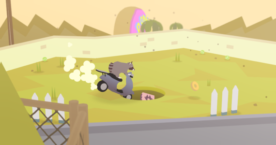 Donut County Scooter