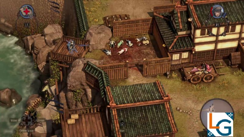 Shadow Tactics: Blades of the Shogun assassinat