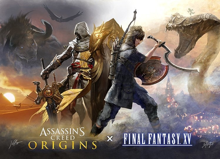 final fantasy XV VS Assassin's Creed Origins