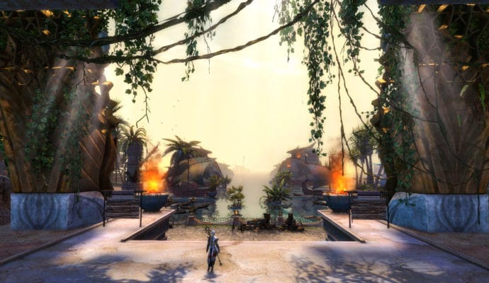 Guild Wars 2: Path of Fire paysage