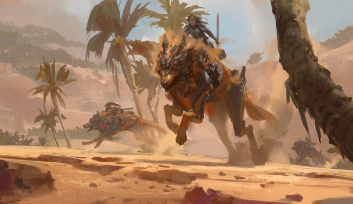 Guild Wars 2: Path of Fire monture