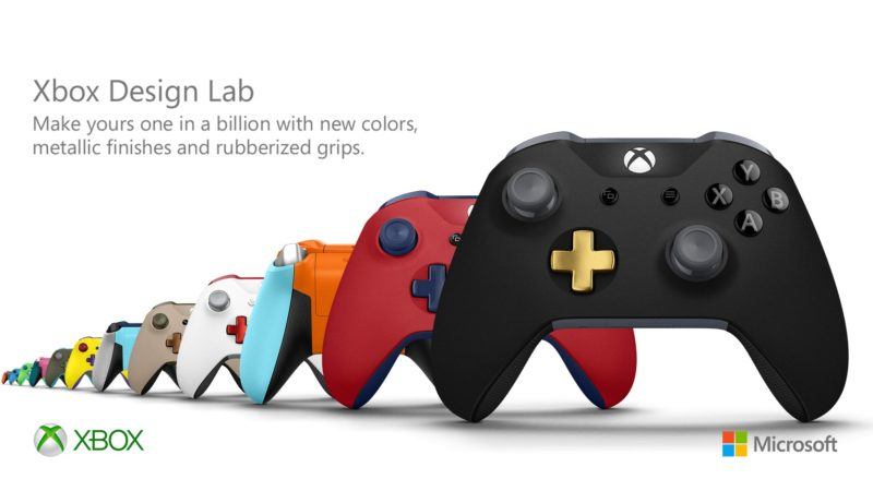 Xbox Design Lab modifier les couleurs de la manette