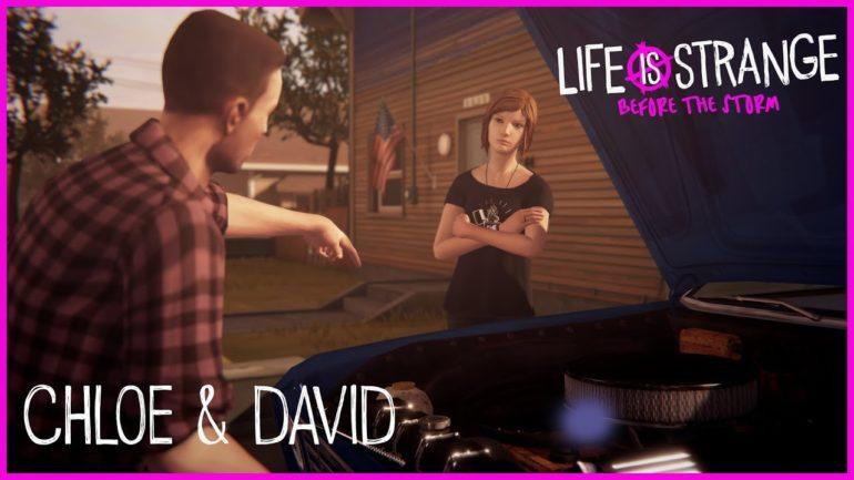 Life is Strange: Before the Storm Chloe et David