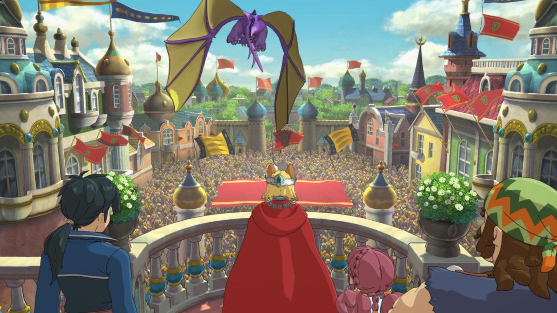 Ni no Kuni II: Revenant Kingdom Drak devant l'assemblée de LG