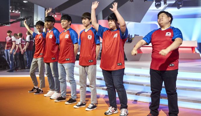 coupe du monde d'Overwatch 2017 équipe de Corée du Sud