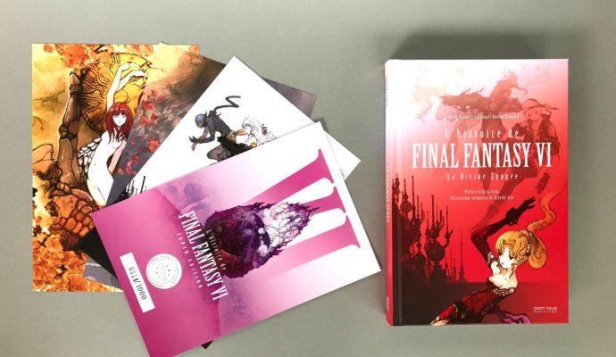 pix n love final fantasy VI - ouvrage standard
