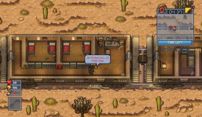 The Escapists 2 Prison train