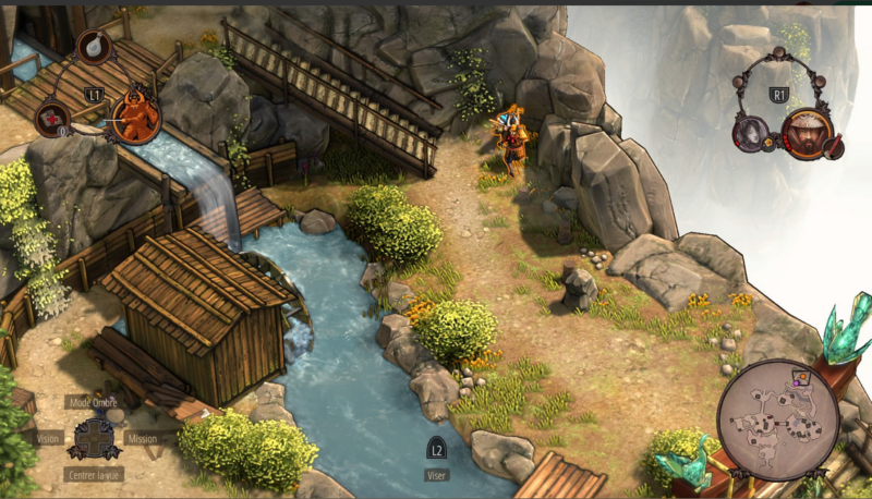 Shadow Tactics: Blades of the Shogun combat samourai