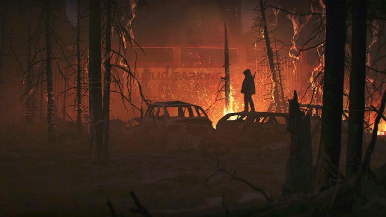 The Last of Us 2 Seattle artwork