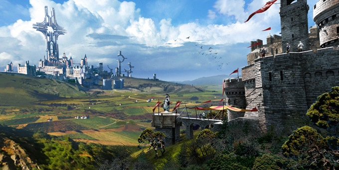 Unsung Story: Tale of the Guardians forteresse
