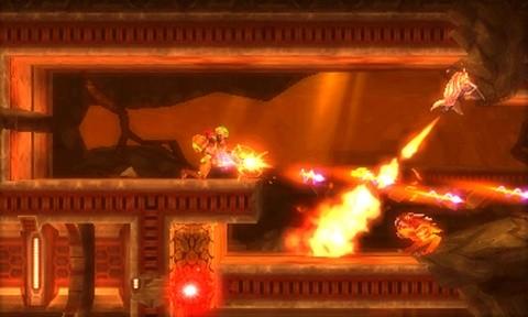 Metroid: Samus Returns feu