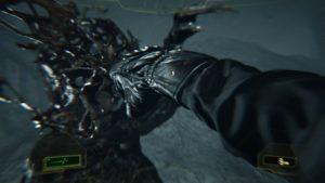 Resident Evil 7 coup de poing