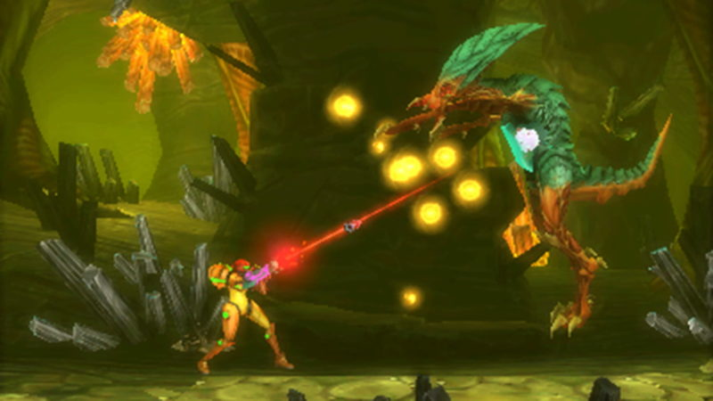 Metroid: Samus Returns boss