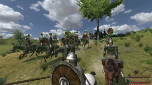 Mount and blade: Warband combat