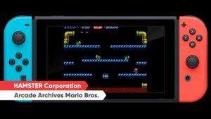 Arcade Archives Mario Bros. sur Nintendo Switch