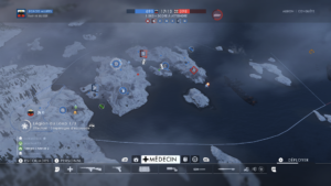 Battlefield 1: In the Name of the Tsar carte albion