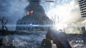 Battlefield 1: In the Name of the Tsar - Cathédrale