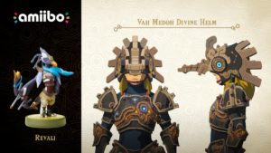 The Legend of Zelda: Breath of the Wild amiibo Revali