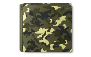 PS4 green camouflage Call of Duty: WWII