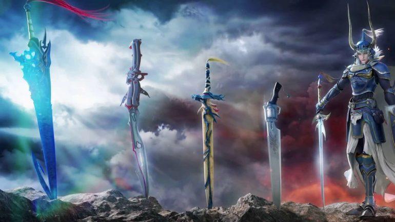 Dissidia Final Fantasy artwork cool