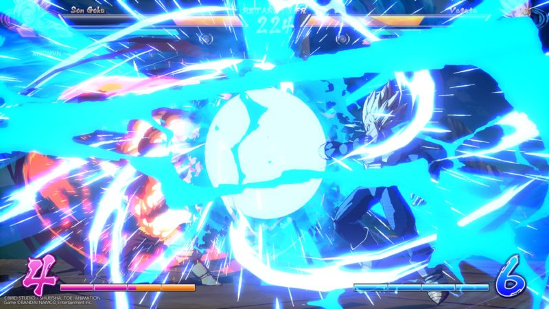 Dragon Ball FighterZ - Explosions