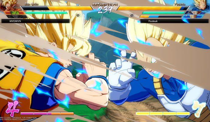 Dragon Ball FighterZ - Son Goku contre Vegeta