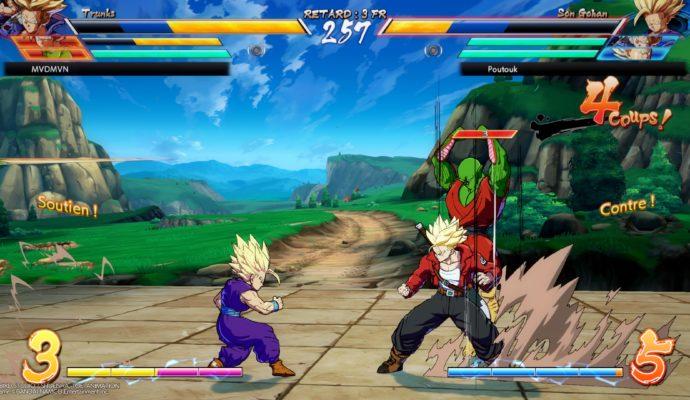 Dragon Ball FighterZ - Arrivée d'une assistance